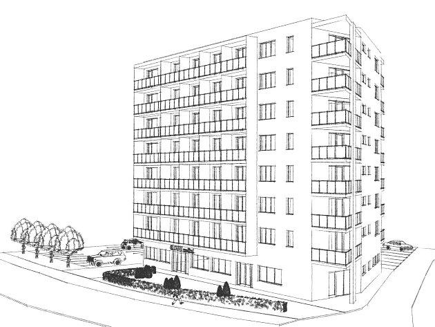 Před pár lety dostavěný bytový areál u břeclavské nemocnice se rozšíří o další dům. Už třetí. Postaví ho znovu společnost spojená s břeclavským podnikatelem Antonínem Nešporem. Kromě bytů mají v přízemí vzniknout lékařské ordinace.
