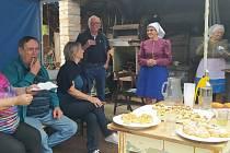 Kobylské muzeum stojí za návštěvu. Nabízí zajímavé stálé epxozice i zajímavé výstavy. Na konci září pozvaly tetičky z Kobylí také na čerstvě navařená povidla.