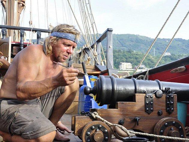 Luděk Kocourek z Podivína strávil sedm měsíců na moři.