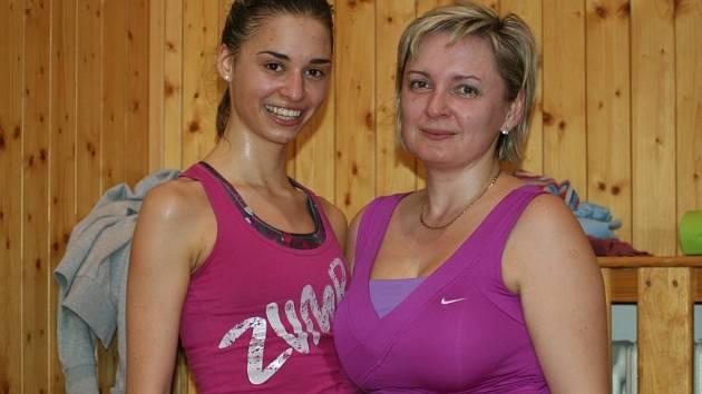 Yvona a Julie Polachovy z Moravské Nové Vsi se zúčastnily tříhodinového maratonu.