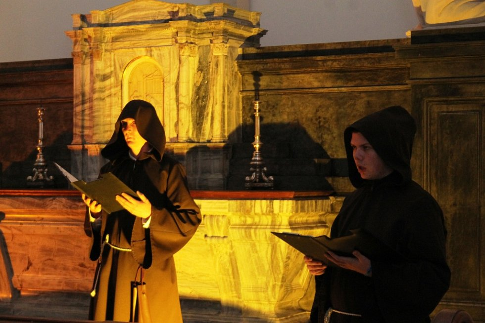Kostýmované prohlídky v Dietrichštejnské hrobce.
