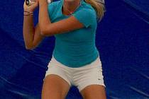 Mladá břeclavská tenistka Linda Dubská.
