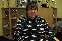 Trenér béčka mužů fotbalového klubu MSK Břeclav Ivan Dvořák starší.
