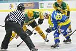 Břeclavští hokejisté si v zápase proti Vsetínu připsali nejvyšší porážku letošní sezony. Prohráli jasně 1:11.