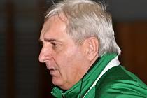 Trenér Legaty Hustopeče Oldřich Kocourek.