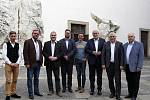 Jihomoravští lídři pro krajské volby a zástupci politických stran debatovali v Mikulově na zámku v diskuzi pořádané Deníkem Rovnost.
