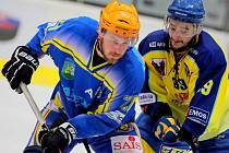 Břeclavský univerzál Peter Beneš strávil většinu letošní sezony v obraně. V play-off jsou ale jeho zkušenosti potřeba v útoku.