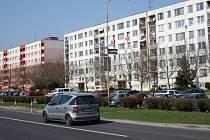 Břeclavské sídliště Na Valtické.