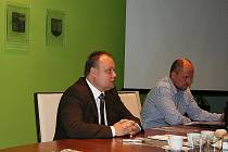 Dymo Piškula a Pavel Kašuba.