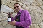 Jeden z majitelů Vinařství Annovino Lednice Jindřich Sobota