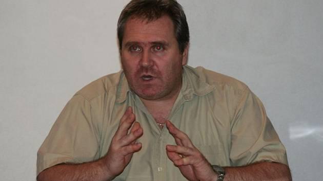 Bývalý starosta Sedlece Rudolf Pelán.