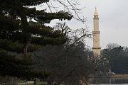 Lednický minaret.