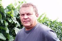 Vinař Jaroslav Hajda z Hlohovce.