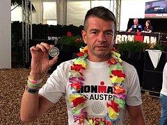 Hustopečan Marek Svoboda uspěl na závodě Ironman Austria 2016.