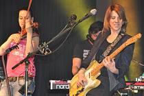 Populární zpěvačka Aneta Langerová koncertovala poslední březnový den v Hustopečích. A to v rámci svého koncertního turné Aneta tour 2010.