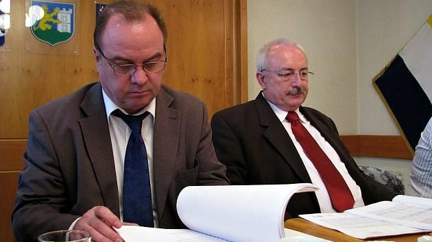 Jaroslav Parolek (vlevo).