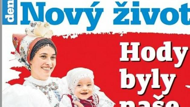 Titulní strana týdeníku Nový život z 1. října patří hodové sezoně.