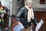 Podle sousedů žena zcela zaplnila dům oblečením a dalšími věcmi za pět let.