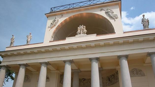 Apollonův chrám. Ilustrační fotografie.