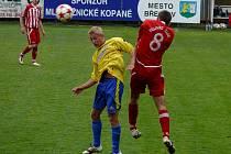 Břeclavský obránce Pavel Jurčík seděl hodinu na lavičce, ale stačilo mu pět minut na hřišti, aby rozhodl.