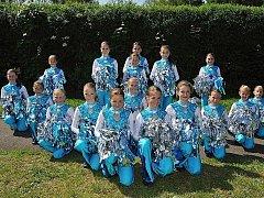 Hustopečské mažoretky se mohou těšit na mistrovství Evropy v chorvatské Poreči.