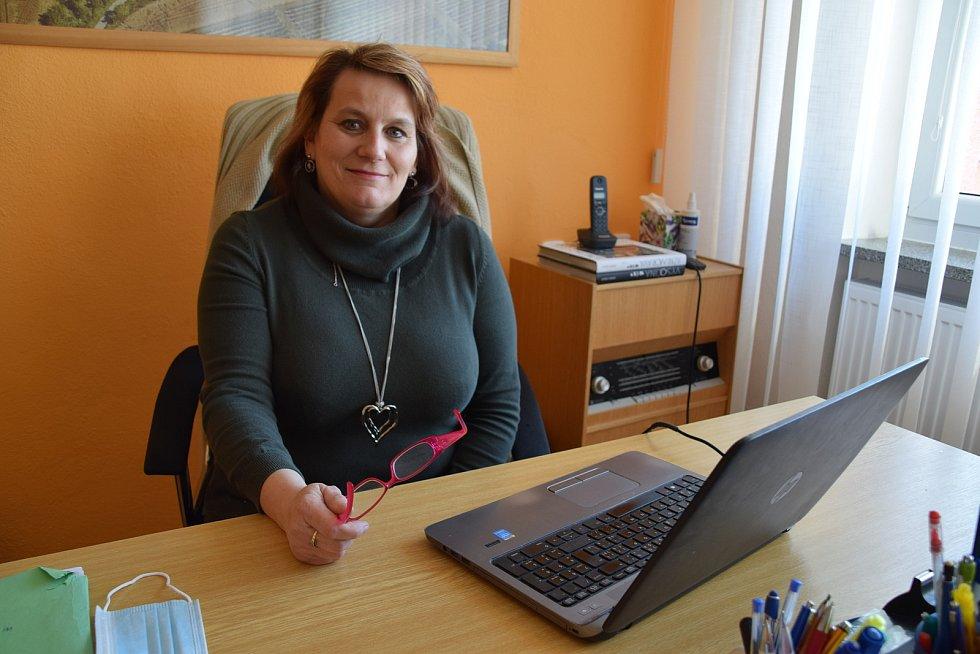 Starostka obce Brigita Petrášová
