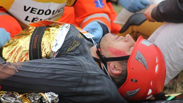 Zachránili desítky výletníků z lodi. Tělo utonulého hledali při cvičení sonarem