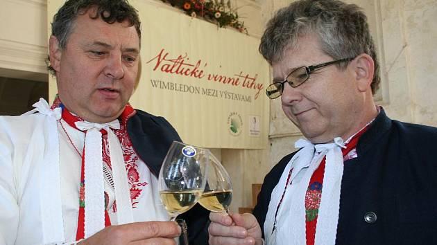Vinné trhy ve Valticích - ilustrační foto.