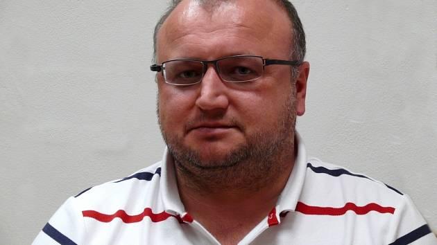 Majitel břeclavského hokejového klubu Patrik Vašíček.