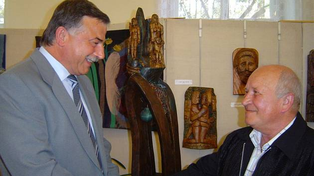 Zdenek Lobpreis (vlevo).