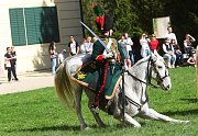 Napoleonské manévry byly k vidění v sobotu a v neděli ve Valticích. Na sto padesát nadšenců v dobových uniformách cvičilo u Belvedéru i u valtického zámku.