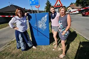 Nadšenkyně z Břeclavi zkrášlily rozvaděč