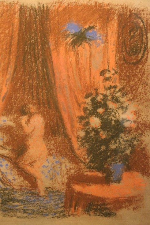 Břeclavskou synagogu zaplnila díla malíře a grafika Maxe Švabinského.