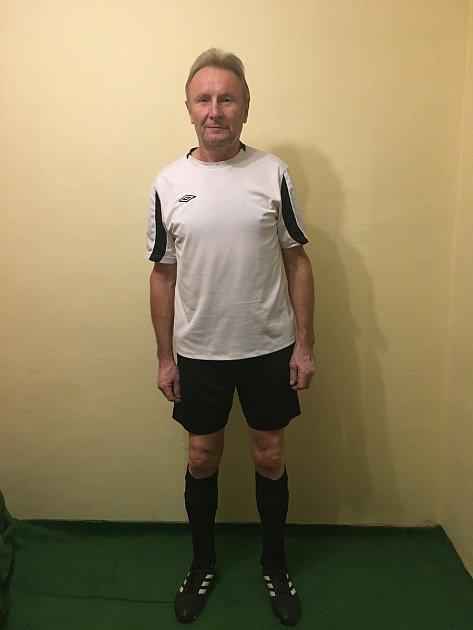 František Minařík se cítí nejlépe ve fotbalovém dresu.