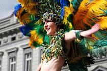 ILUSTRAČNÍ FOTO: Tanečnice samby.