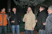 Vánoční atmosféru navodilo v Bulharech zpívání koled.