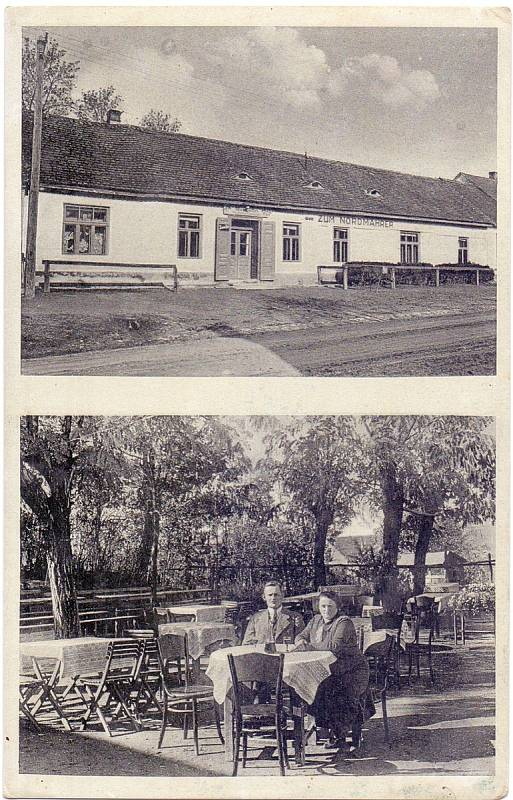 Bratelsbrunn, hostinec a ubytování Max Rotter, rok 1938