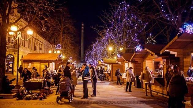Břeclavské Vánoce na pěší zóně potrvají do neděle