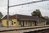 ILUSTRAČNÍ FOTO: Vlakové nádraží ve Vranovicích.