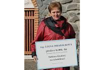 Marketingová ředitelka Vinařství Ludwig Liana Hrabálková podporuje nemocnou Sabinku Grófovou dlouhodobě.