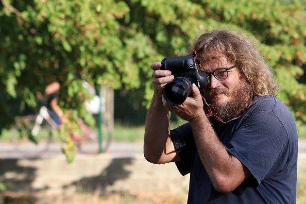 Břeclavský fotograf David Korda,