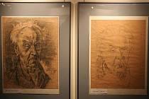 Výstava kreseb a obrazů malíře a keramika Mikuláše Kovaříka z Poštorné.