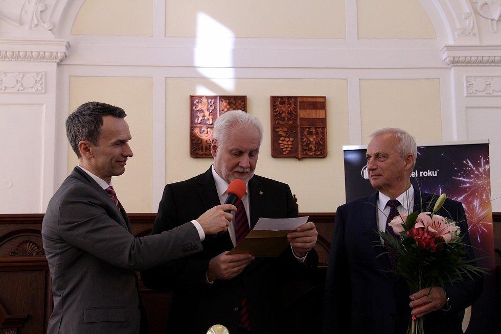 Hejtman Jihomoravského kraje vyhlašuje držitele titulu Podnikatel roku 2018.