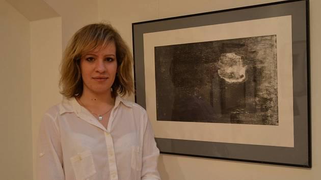 Díla Lucie Skleňákové jsou k vidění v břeclavském Lichtenštejnském domě.