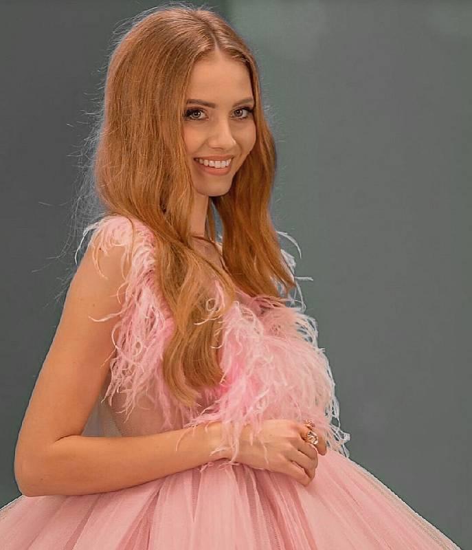 Adéla Maděryčová na finálovém večeru Miss Czech Republic 2020.