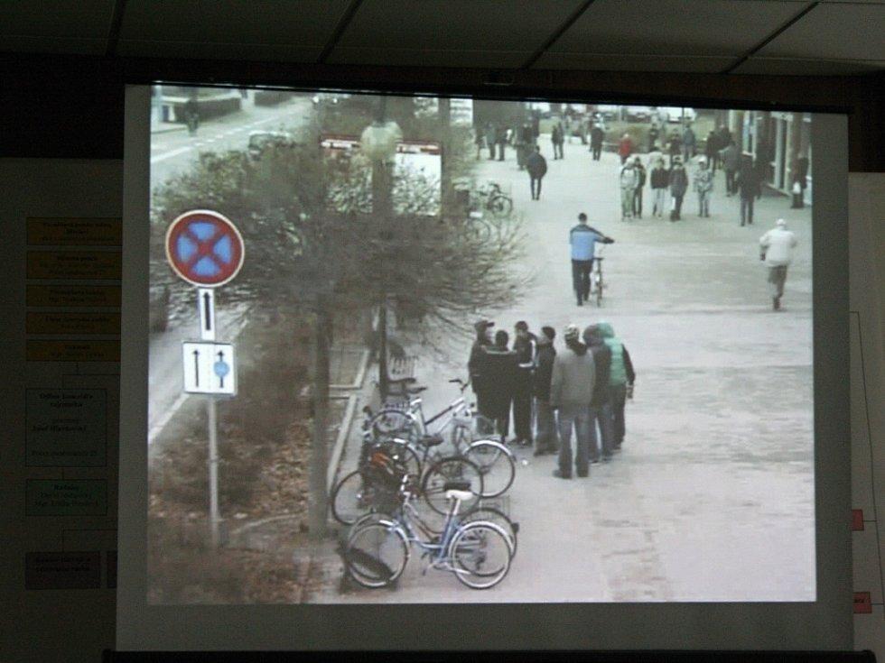 Na střed Břeclavi nyní dohlíží sedm nových kamer.