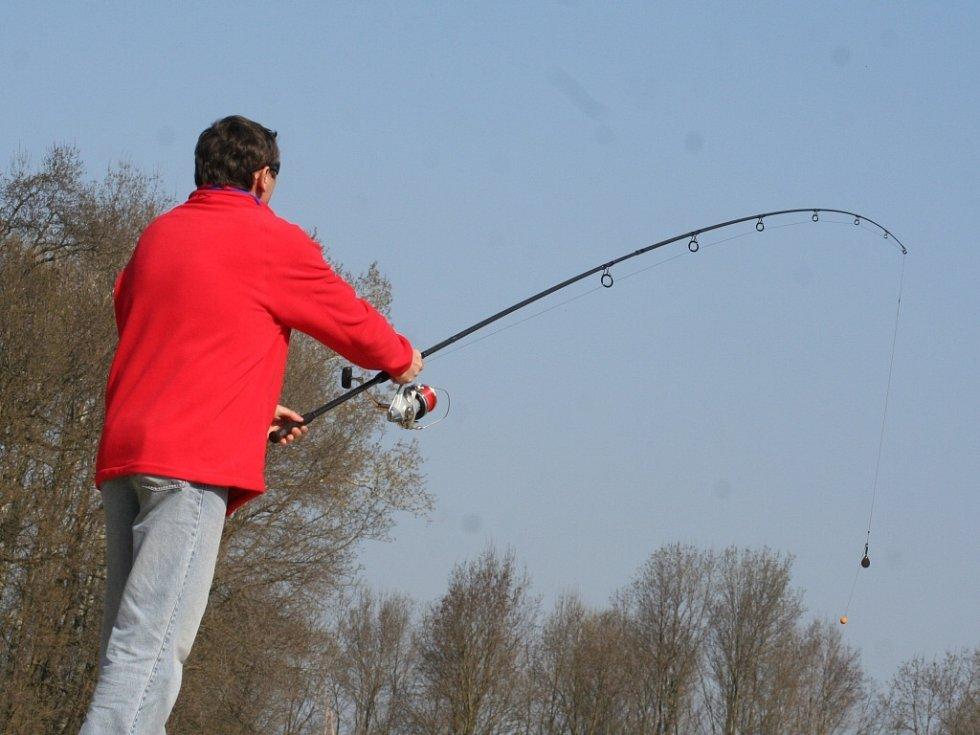 Rybářské závody v Lednici.