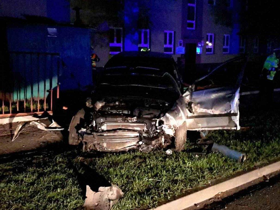 V Břeclavi se o velikonoční neděli stala vážná nehoda.
