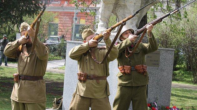 V Břeclavi si v pátek připomněli 73. výročí od osvobození města Rudou armádou