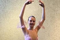 Pavla Izakovičová z Břeclavi se věnuje již několik let baletu.